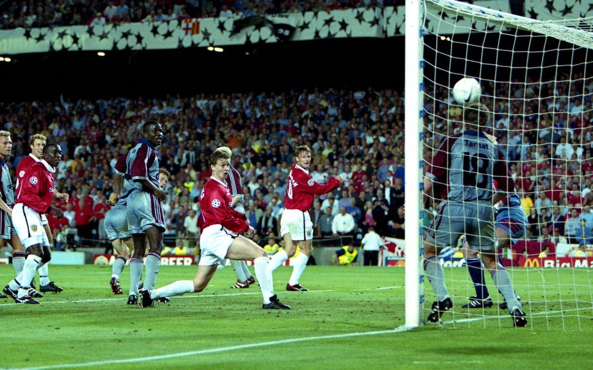 Manchester United v Bayern Munich - UEFA Champions League final 1999