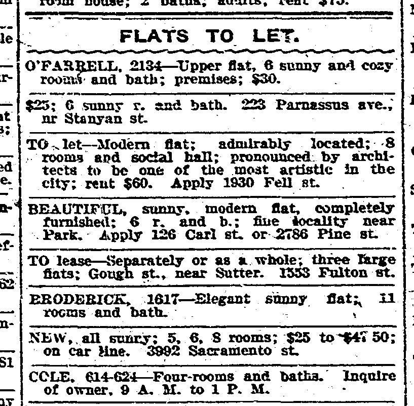 Sf Chronicle Classifieds
