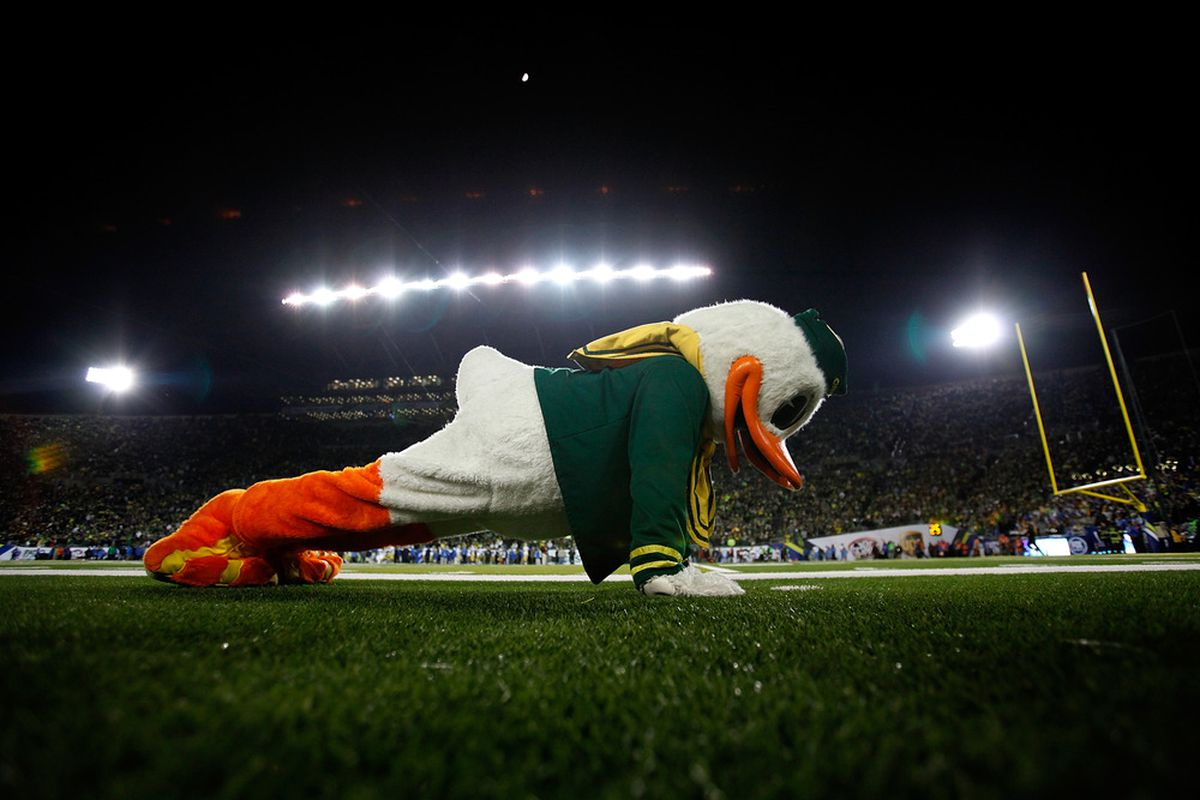 Oregon will have 7 home games in 2012, though only 4 are conference games.