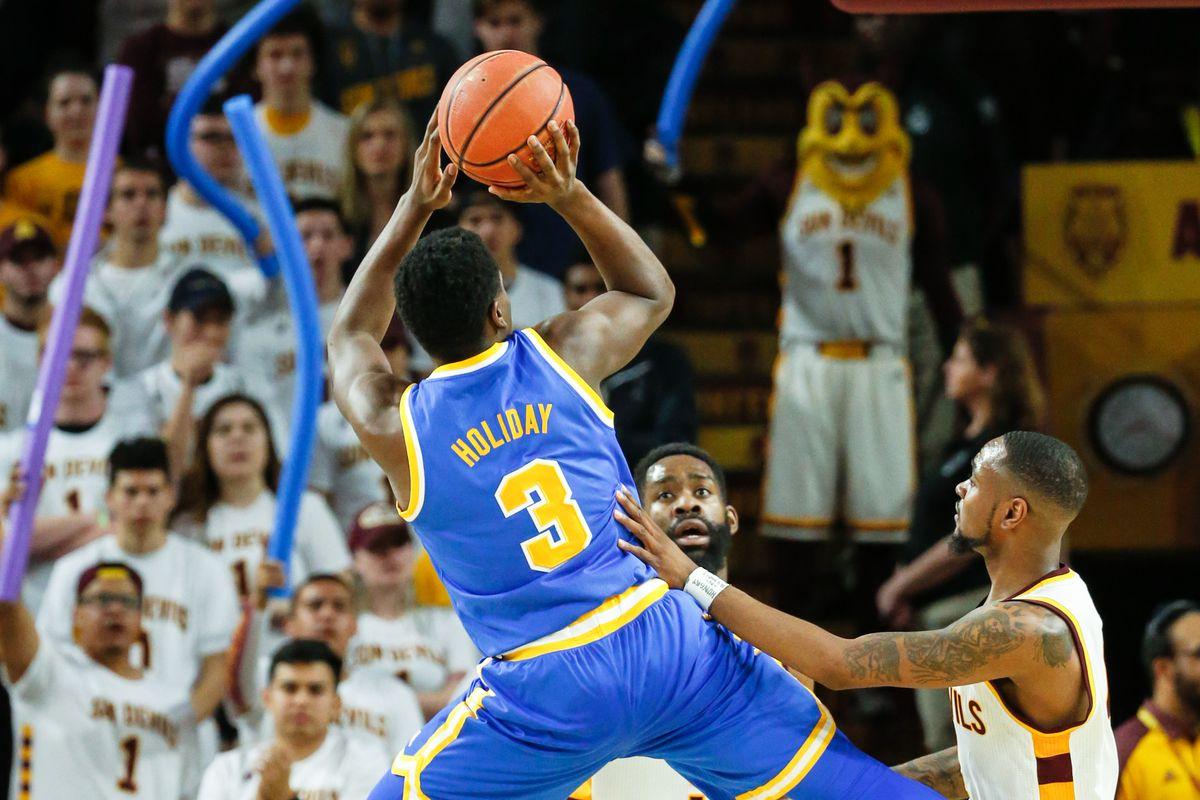 COLLEGE BASKETBALL: FEB 23 UCLA at Arizona State