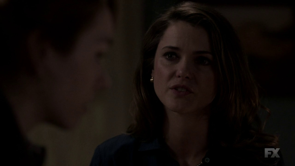 Elizabeth (Keri Russell) reveals the truth about herself on The Americans.