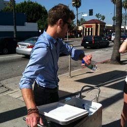 Water man! Suspenders!