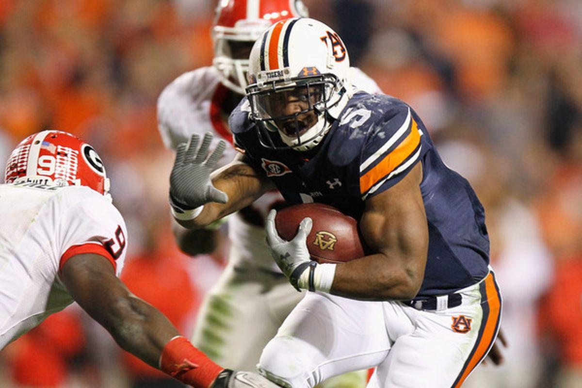 Auburn: No. 1 until it loses, basically.