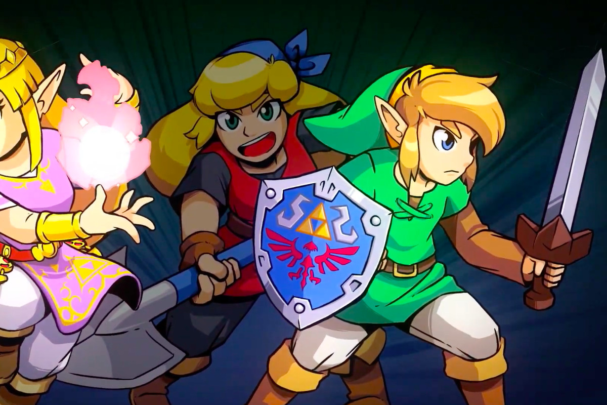 Nintendo Is Combining The Legend Of Zelda With Crypt Of The