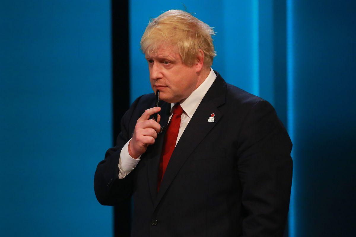 Boris Johnson during a Brexit debate.