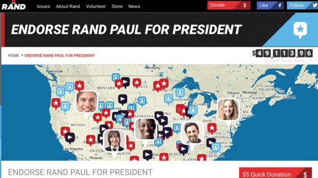 Rand Paul face map