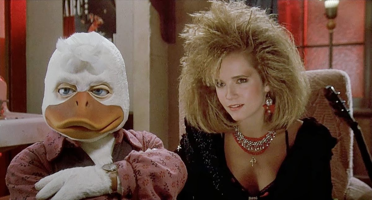 Howard duck and that thompson in Howard in the duck