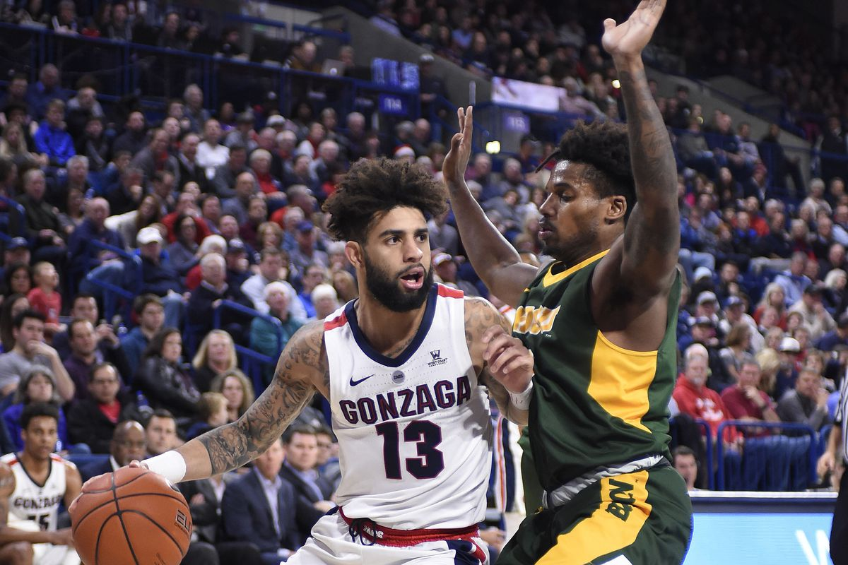 NCAA Basketball: North Dakota State at Gonzaga