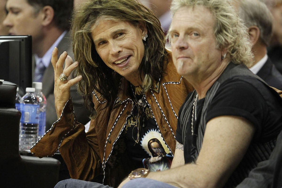 Even Steven Tyler of Aerosmith knows The Q is the place to be on a Wednesday Night(Photo by Gregory Shamus/Getty Images)
