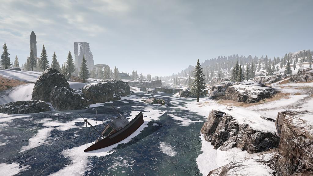pubg new map snow