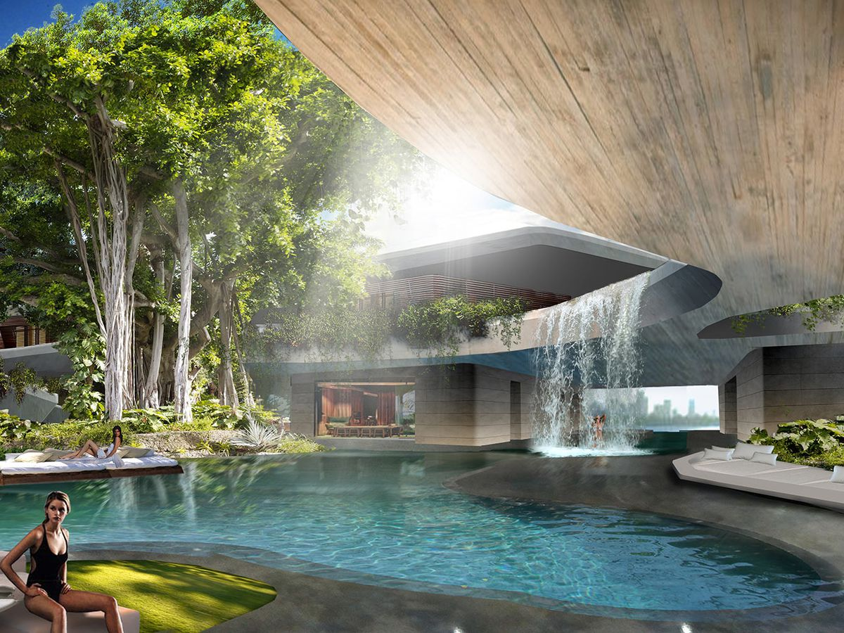Rendering of Stuart Miller's future home at 11 Star Island