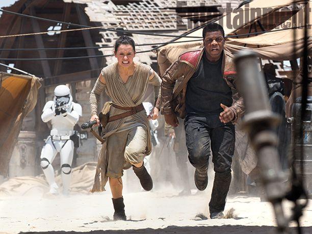 Rey Finn Force Awakens