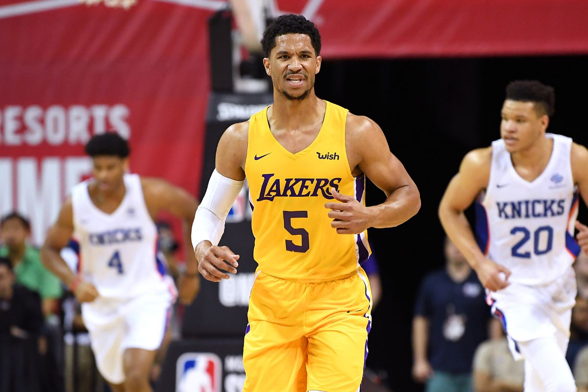 official photos 86b8c 7230f Lakers News: Josh Hart explained why he switched from No. 5 ...