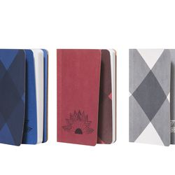 Mini Journals in Assorted Plaid Prints, $10 (set of 3)