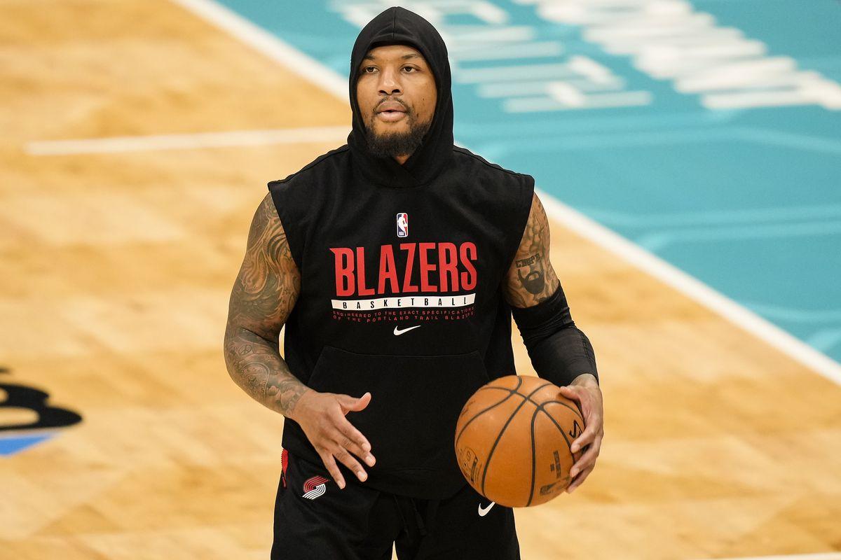 NBA: Portland Trail Blazers at Charlotte Hornets