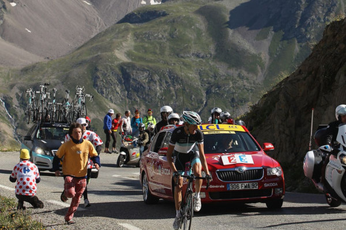 This is a view spectators will not get to see on Sunday now that the Galibier has been removed from the Stage 15 route.
