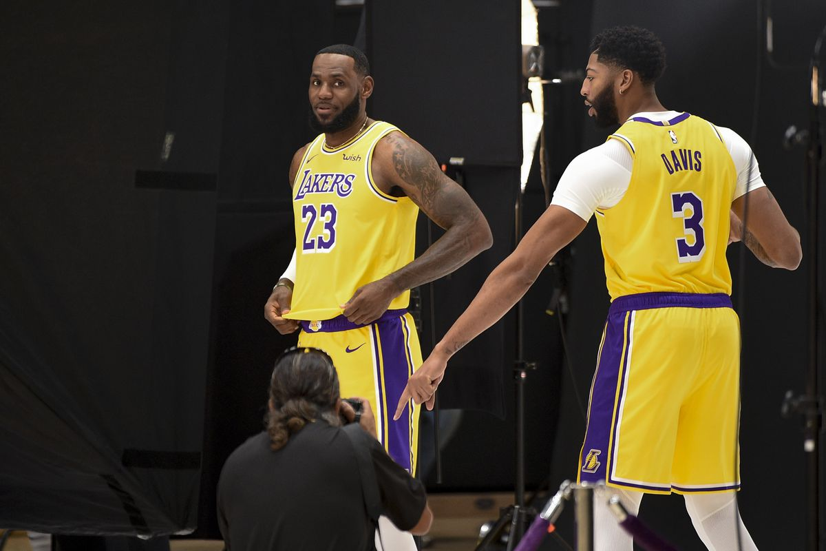Lakers Anthony Davis Doesn T Want To Talk About Free Agency
