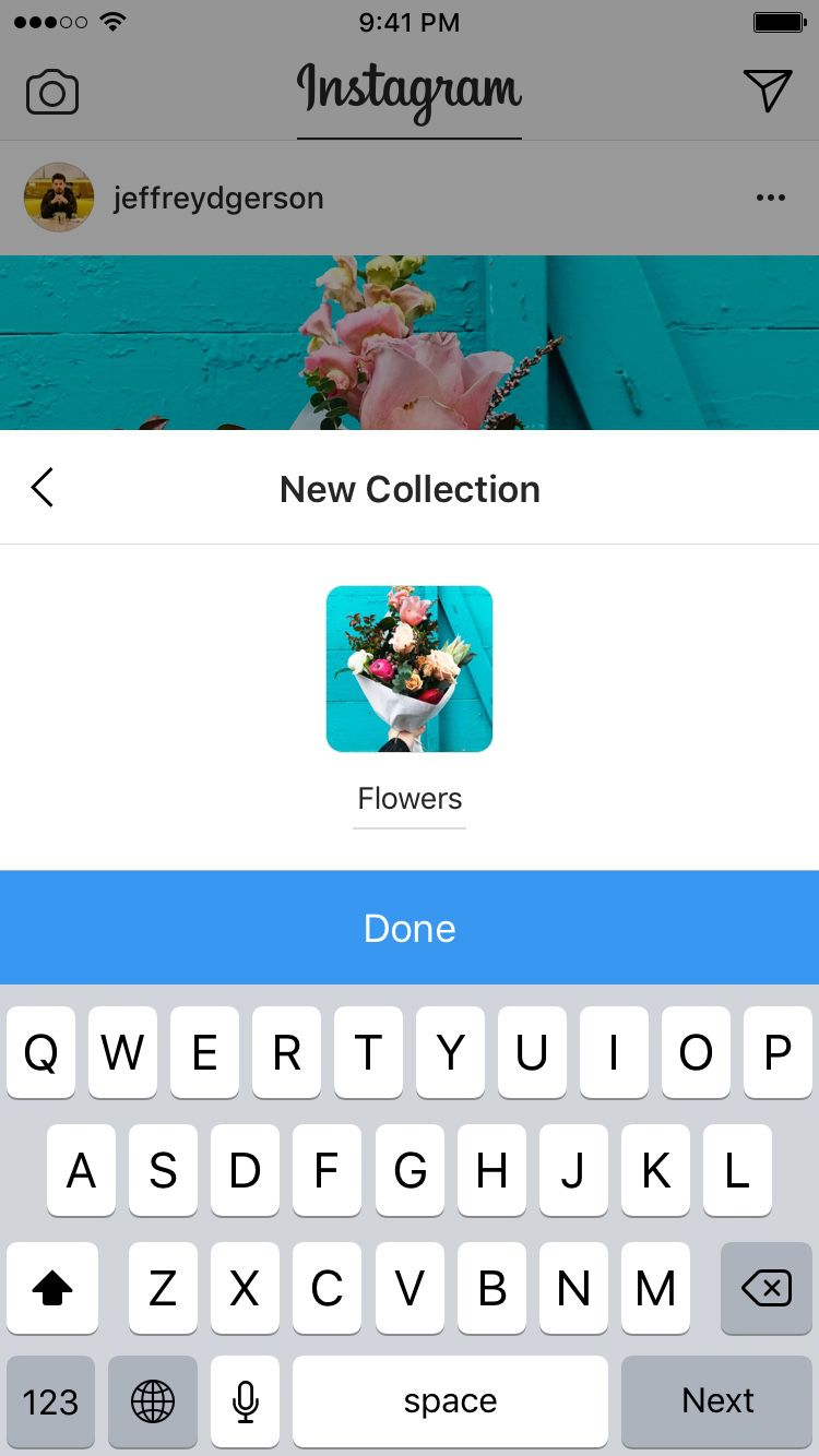 Instagram's saved posts can now be organized into Pinterest-like