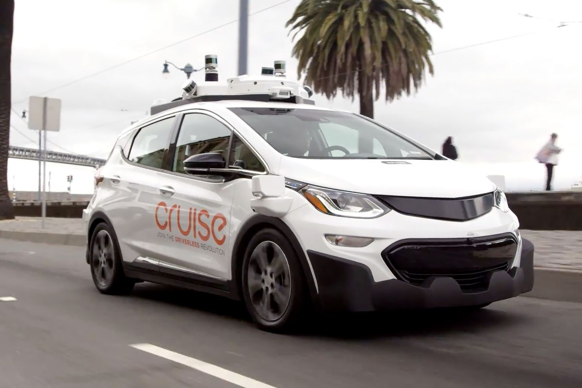 GM's Cruise partners with DoorDash to test autonomous food delivery