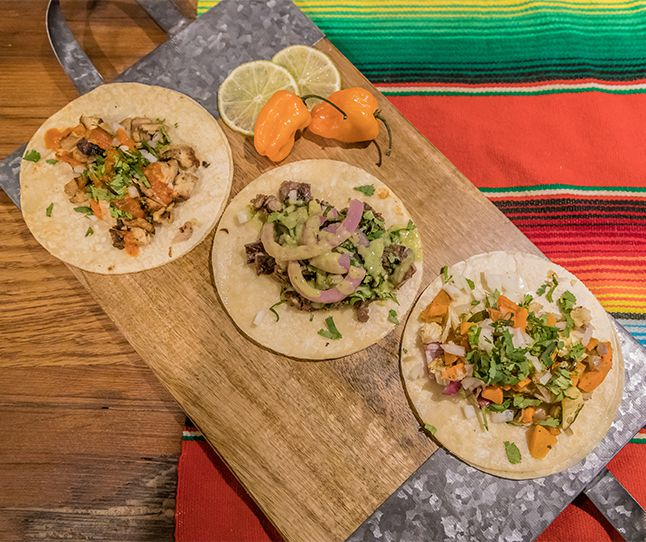 Tacos from Picante