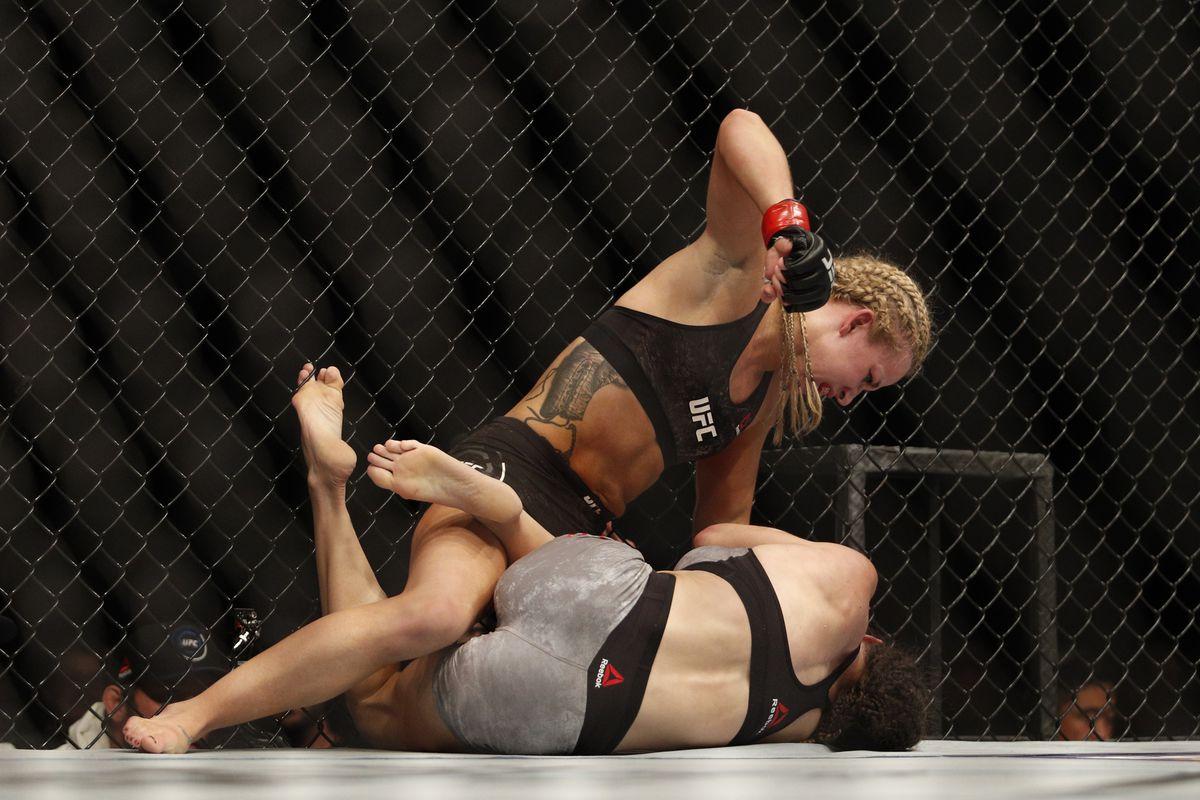 MMA: UFC 218-Cooper vs Magana