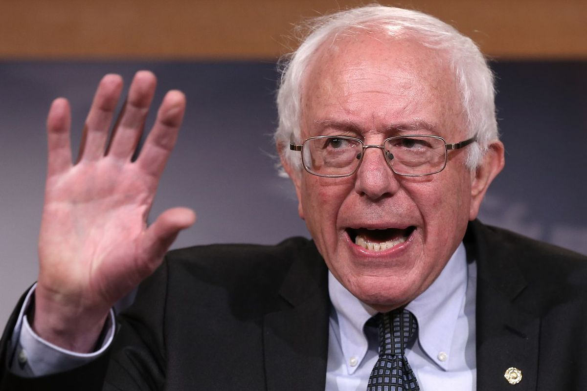 Hold up! Bernie Sanders has criticized the Associated Press's decision to declare Hillary Clinton the presumptive nominee on Monday night. Does he have a point?
