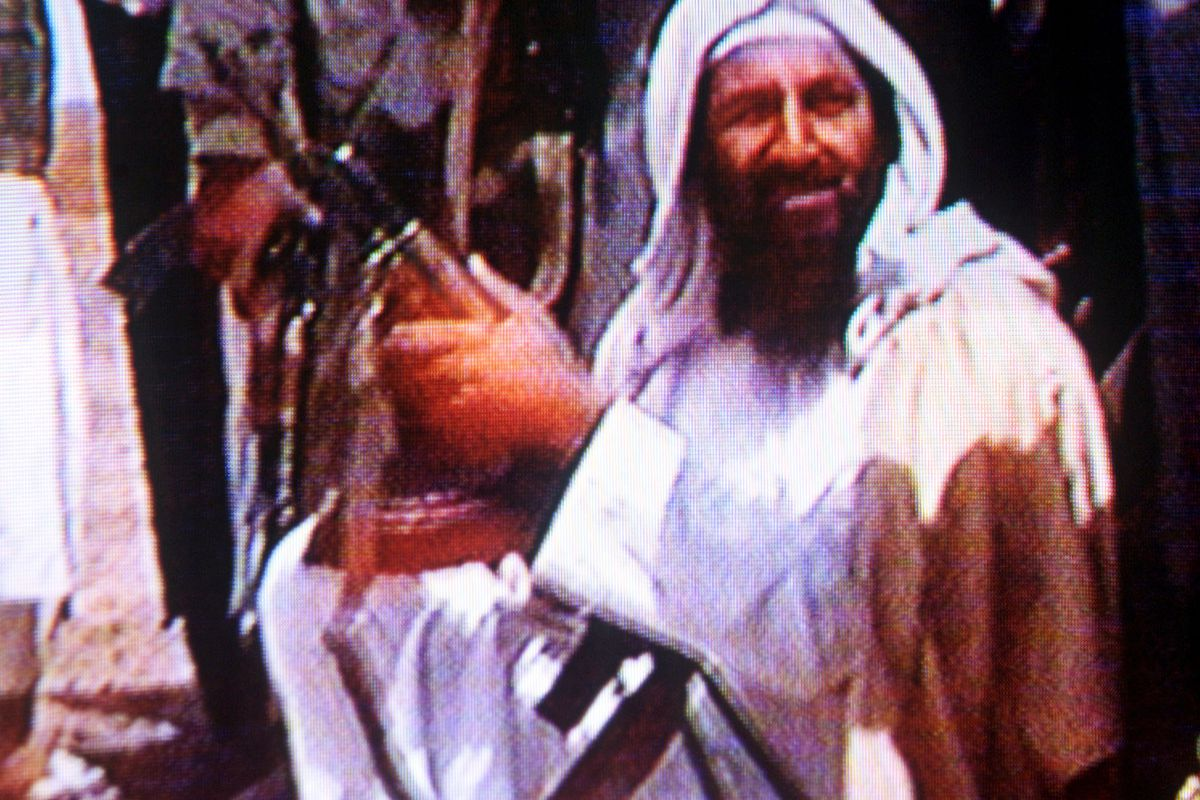 Bin Laden liked guns. That is not one of al-Qaeda's secrets. (Getty Images)