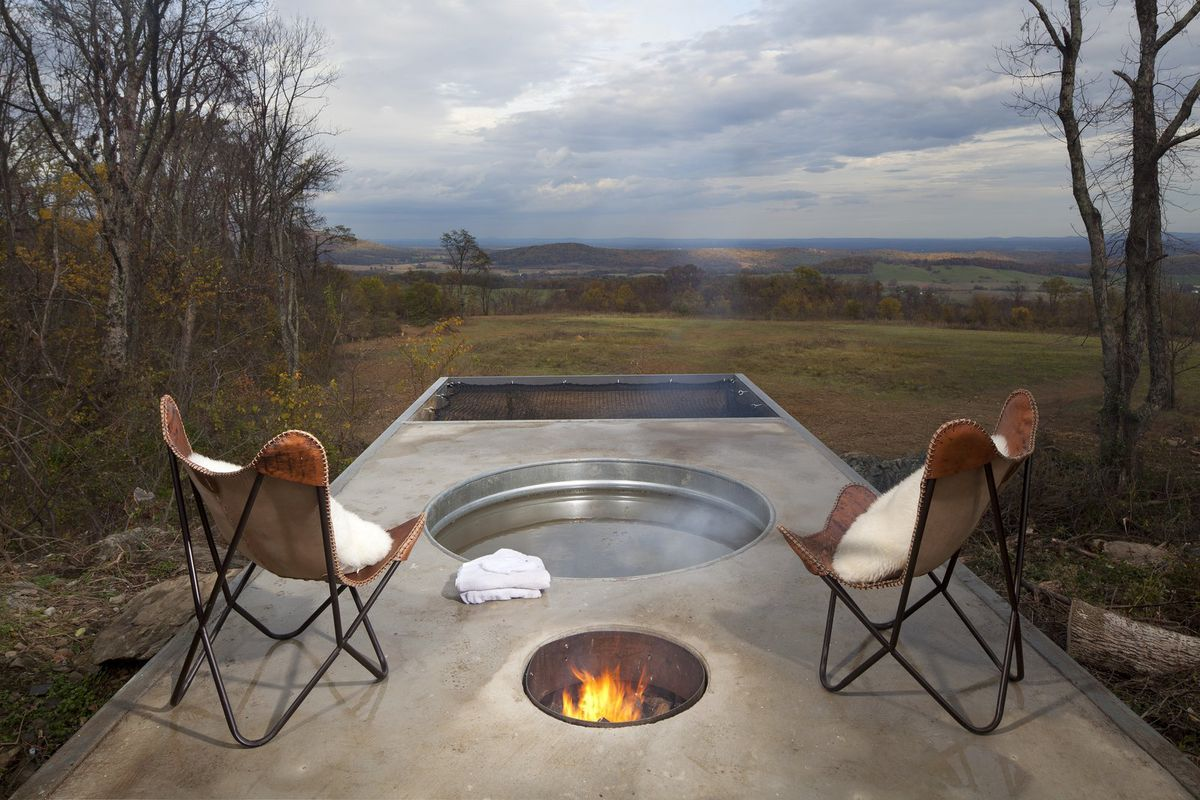 Concrete Cabin From Lost Whiskey Club Makes A Cool Off Grid Getaway Curbed