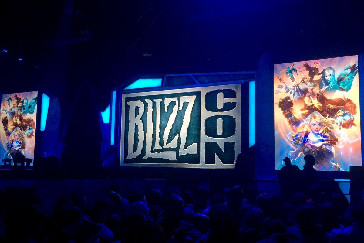 BlizzCon 2017 stage photo