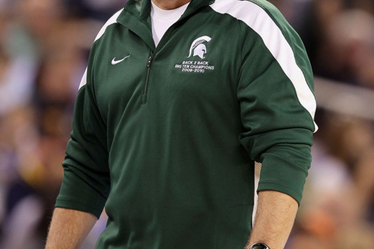 You look too good in green and white, Tom.