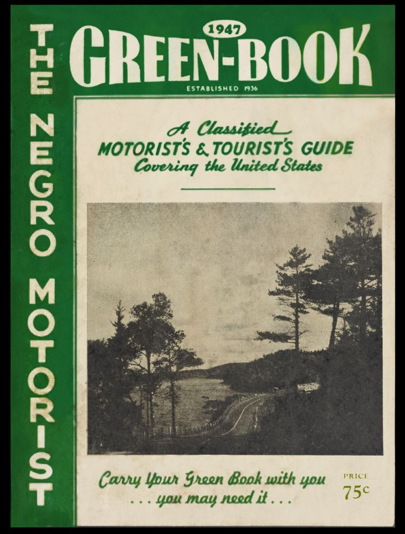 The cover of the 1947 Green Book.
