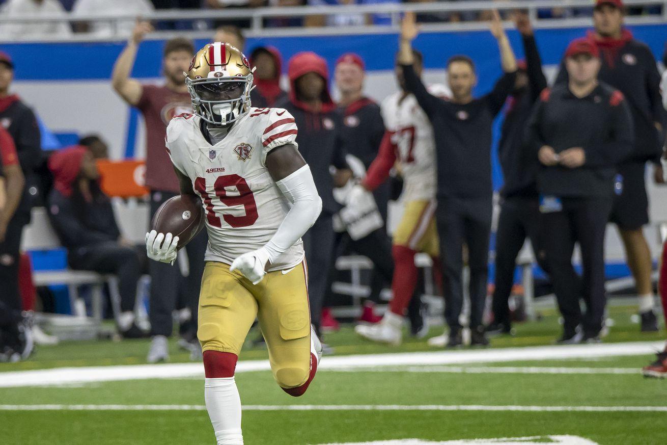 NFL: San Francisco 49ers at Detroit Lions