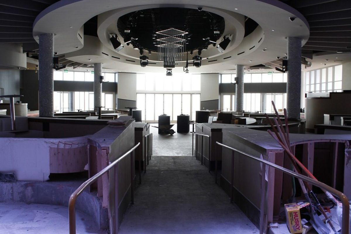 Renovations are under way for the future home of Bagatelle.