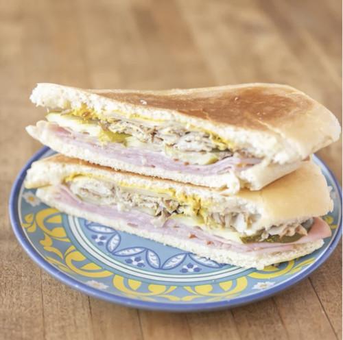 Sandwich at Café Tropical.