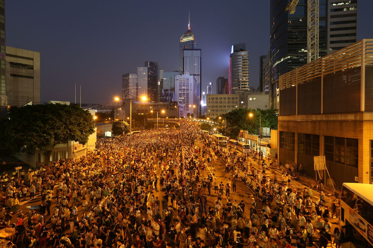 Hong Kong protests 9/28