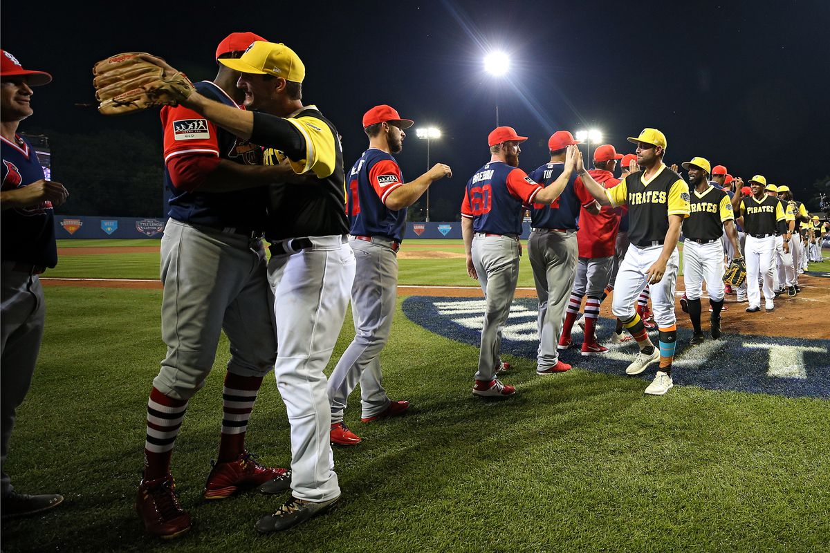 finest selection 69c45 a4c56 The Little League Classic was great and should be an annual ...