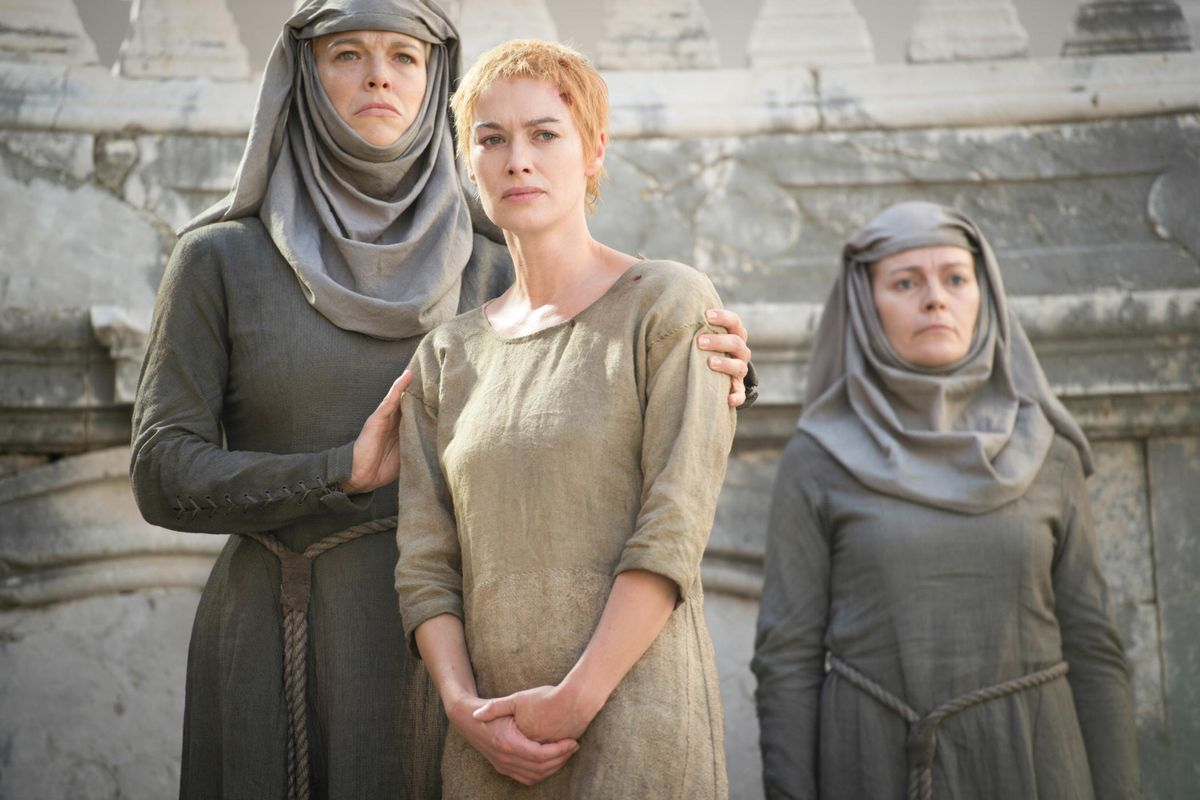 We're guessing that hell hath no fury like a Cersei shamed.