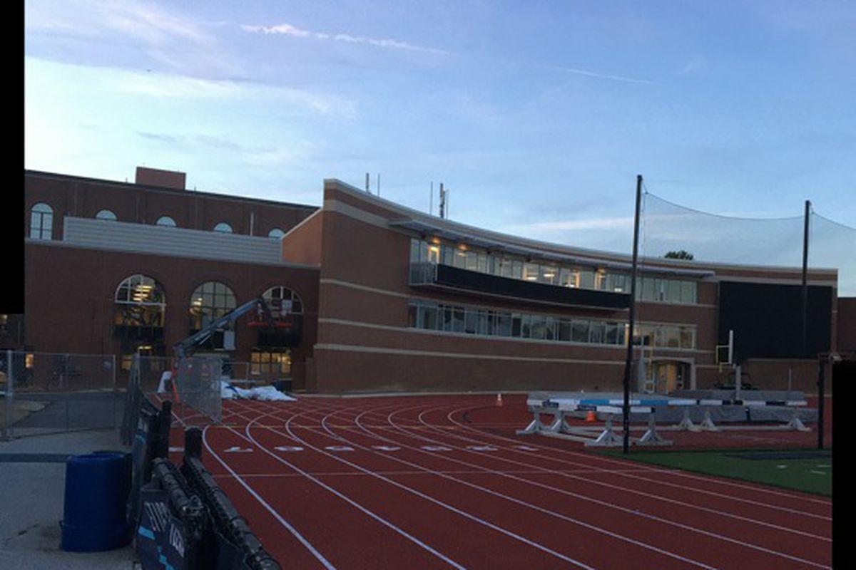 Sneak Peak: The Villanova Stadium West End Zone Building