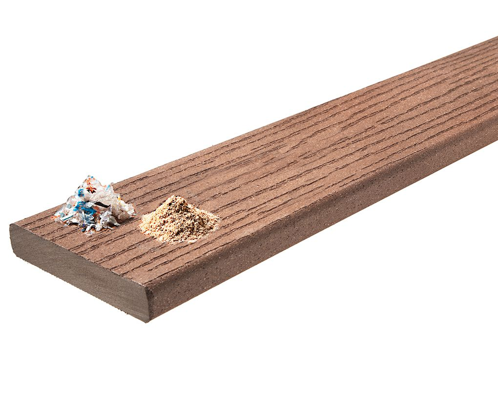 Composite Decking Board Material