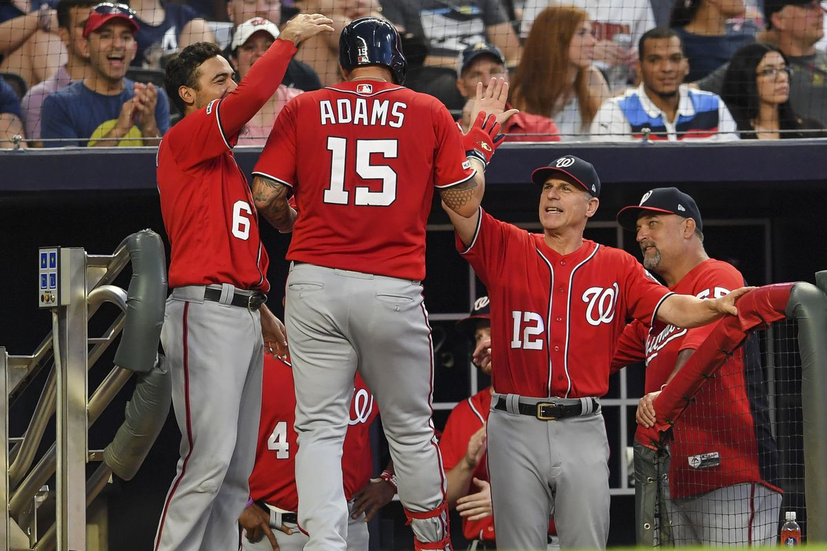 Washington Nationals hold on for 5-3 win over Atlanta Braves; big fifth lifts Nats to victory...