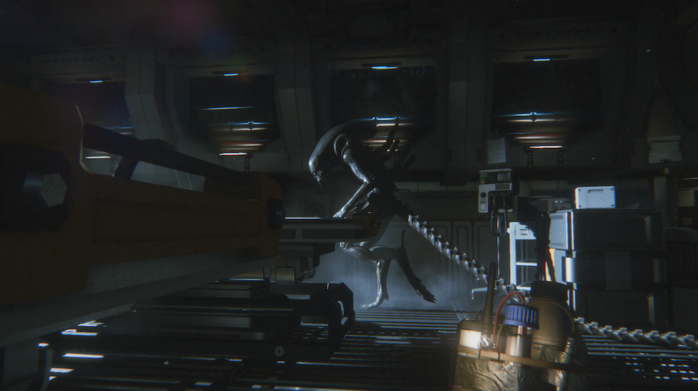 Alien Isolation hiding