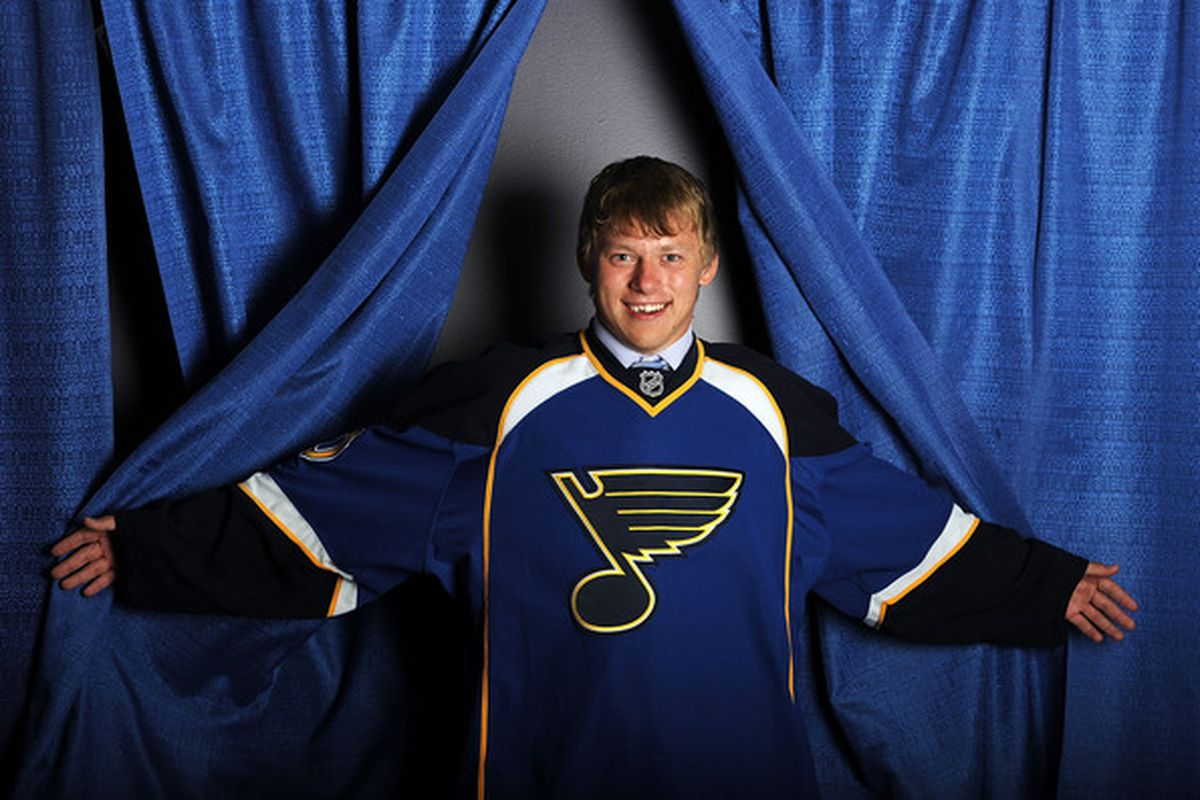 """""""Hello. My name  Vladimir Tarasenko, and I have returning to Game Time 'Fab Five' listing. Have moves like Jaegermeister...""""  Photo credit"""