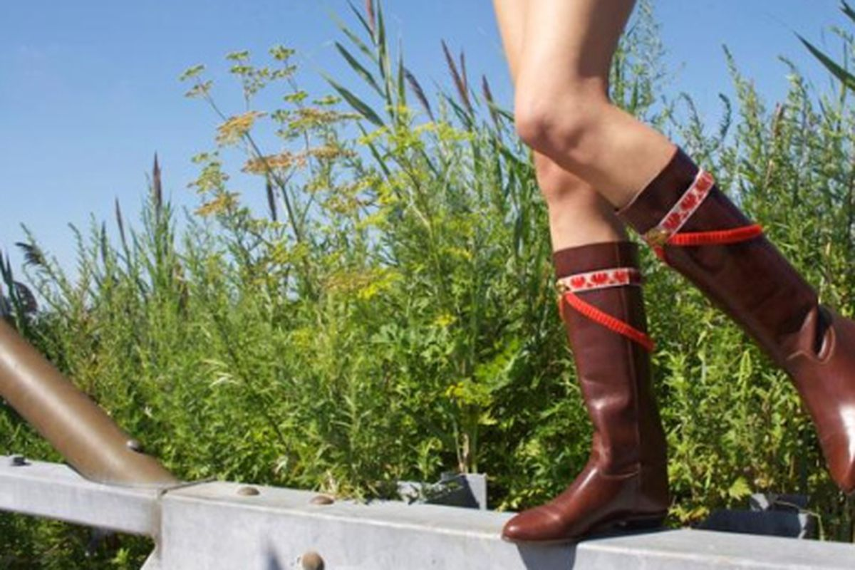 """Boot accessories by <a href=""""http://www.the2bandits.com/"""">The 2 Bandits</a>"""