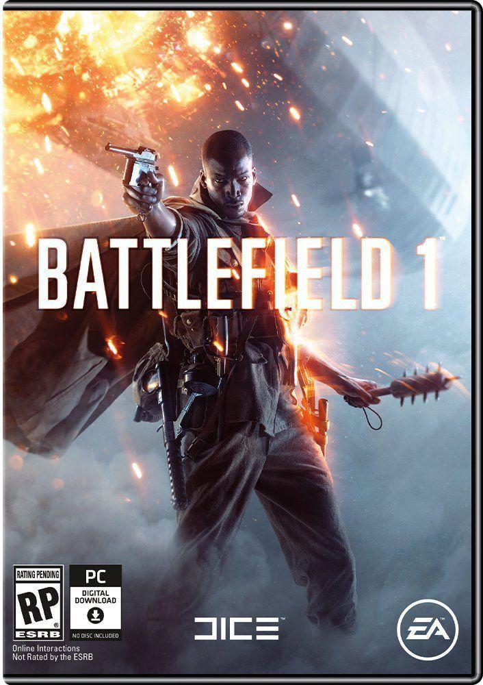 Battlefield 1 PC box art