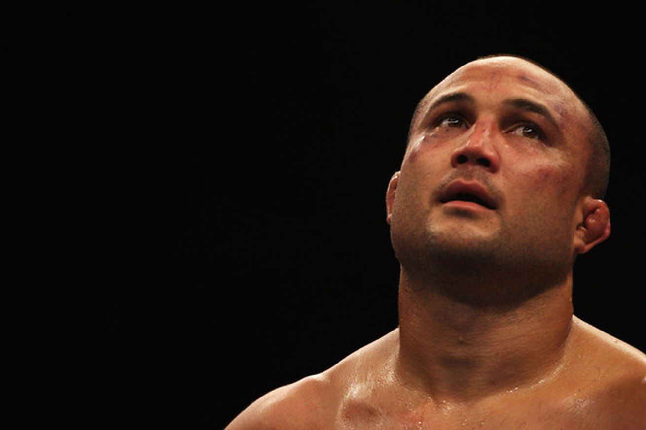 Photo of BJ Penn by Mark Kolbe for Getty Images.