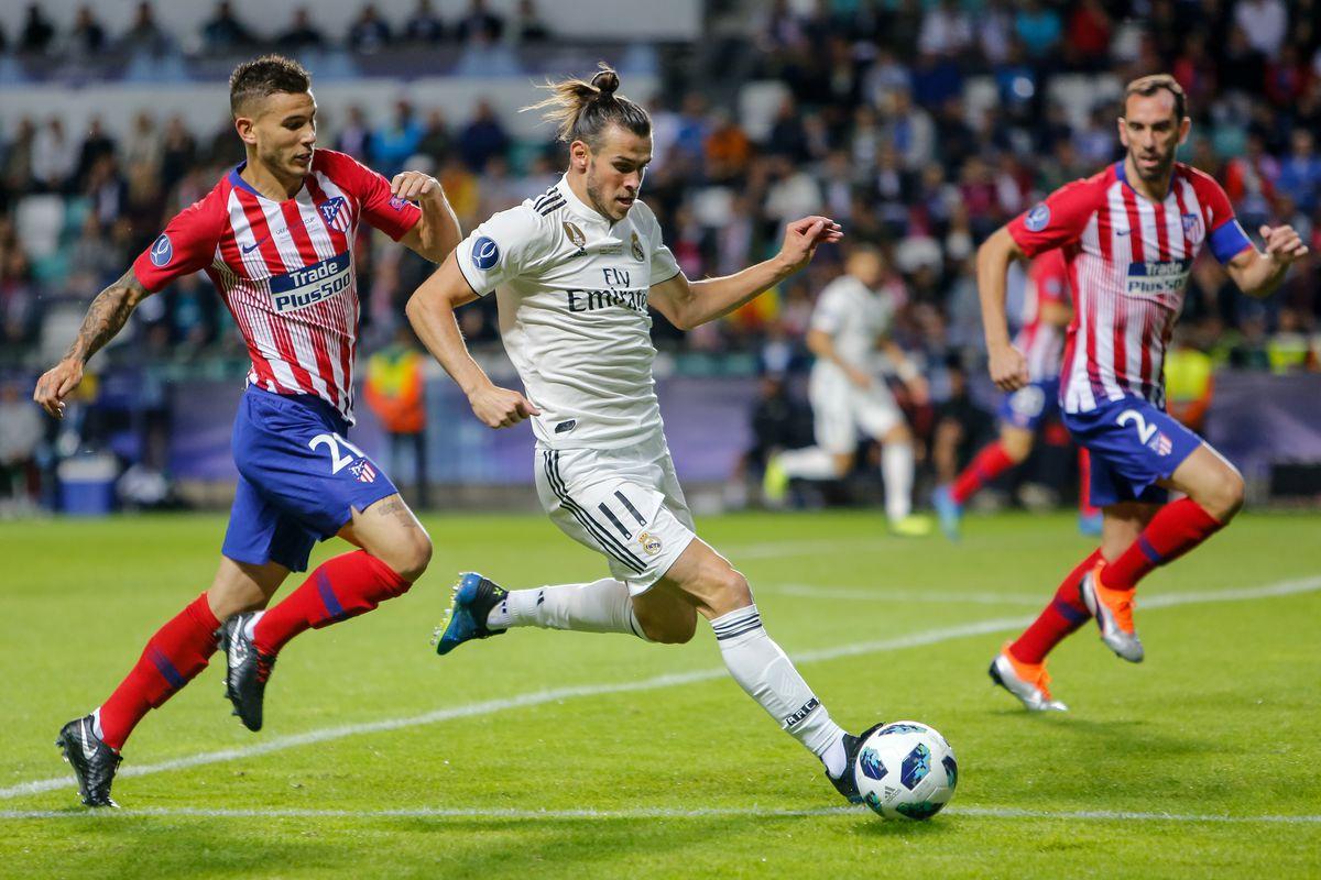 Real Madrid v Atletico Madrid - UEFA Super Cup 2018