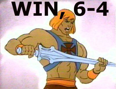 WIN, 6-4