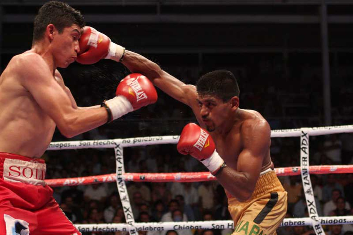Cruz-Solis has my personal vote for fight of the month - which fight is yours?