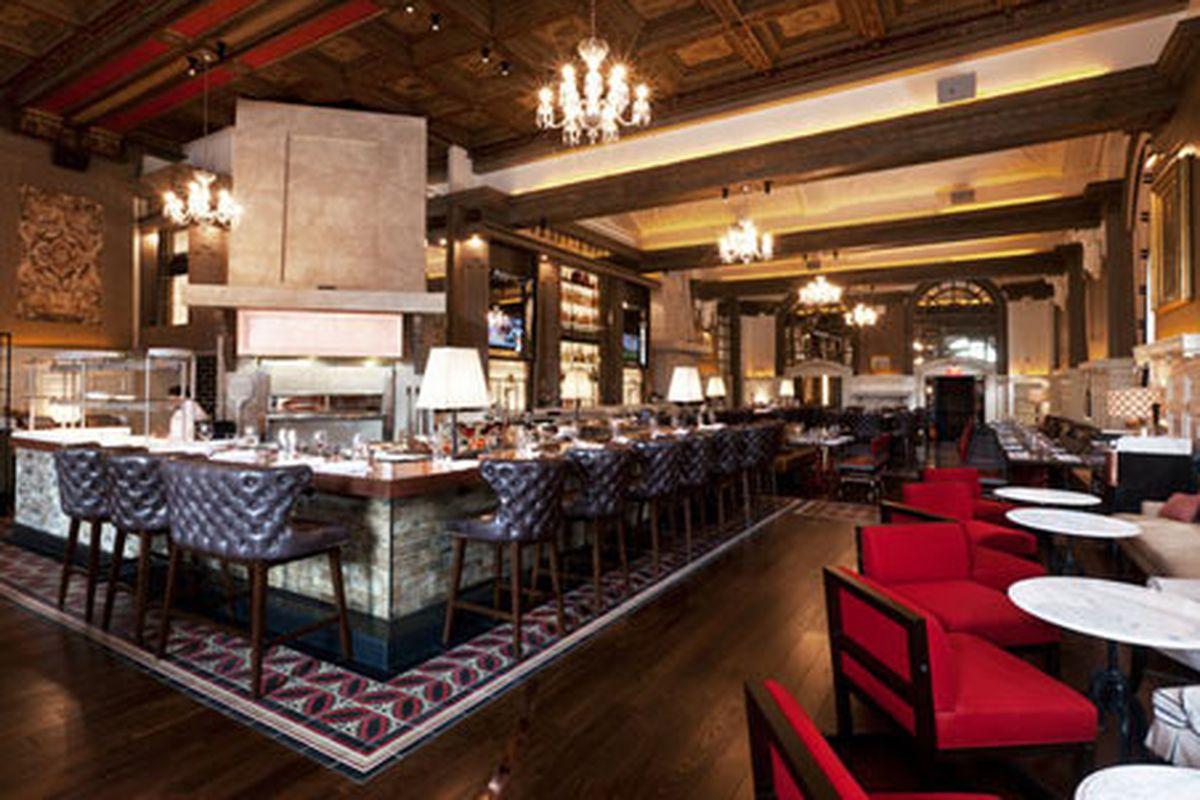 oak long bar + kitchen opens tonight - eater boston