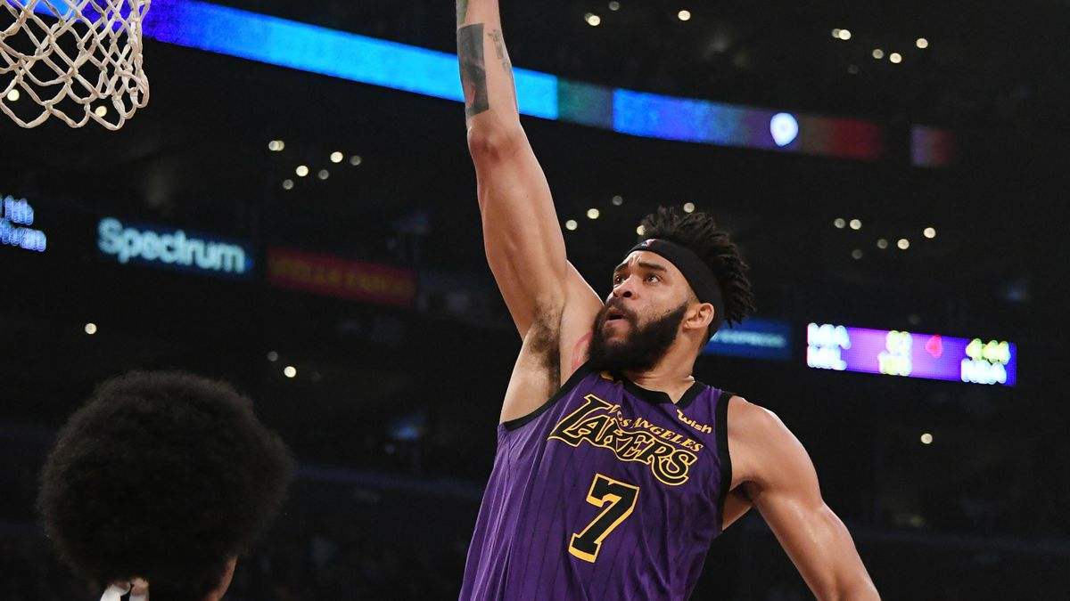 JaVale McGee explodes as Lakers lose to Nets 19c7d7a31